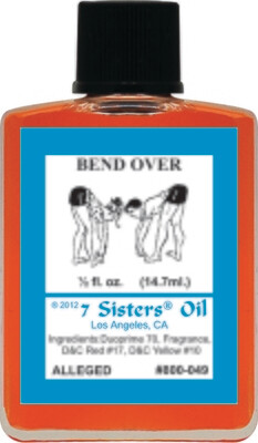 Bend Over oil 7sis