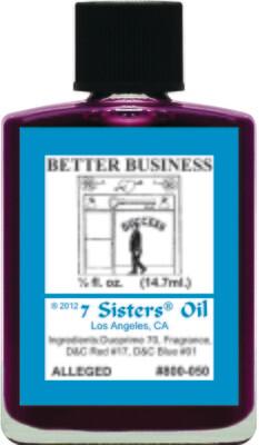 Better Business oil 7sis