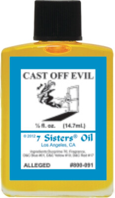 Cast Off Evil oil 7sis
