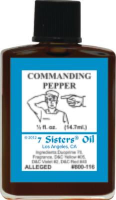 Commanding Pepper oil 7sis