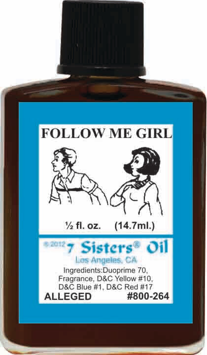 Follow Me Girl oil 7sis