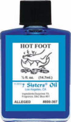 Hot Foot oil 7sis