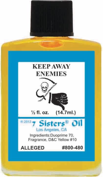 Keep Away Enemies oil 7sis