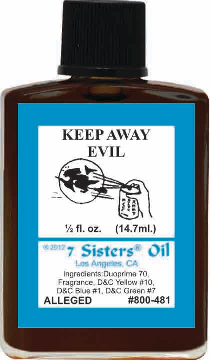 Keep Away Evil oil 7sis