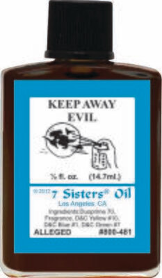 Keep Away Evil oil 7sis