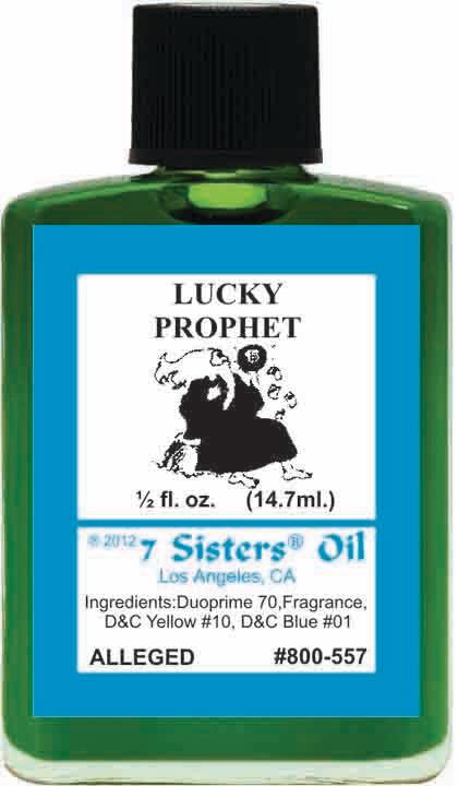 Lucky Prophet oil 7sis