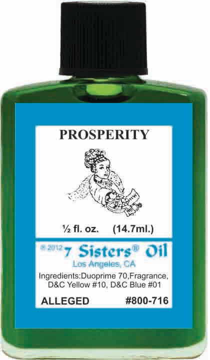 Prosperity oil 7sis