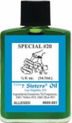 Special #20 oil 7sis
