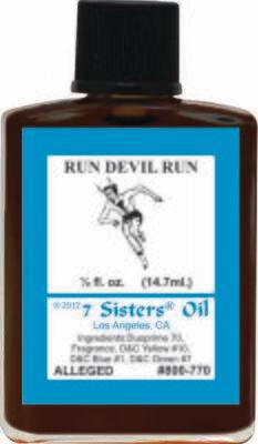Run Devil Run oil 7sis