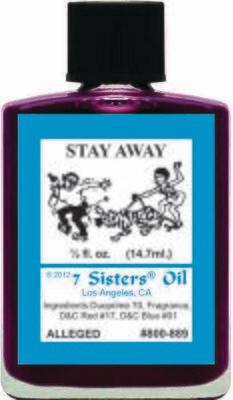 Stay Away oil 7sis