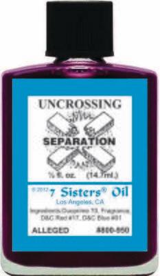 Uncrossing oil 7sis
