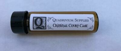 Criminal Court Case Oil - QO