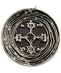 Solomon's Magic Circle amulet