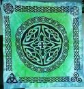 Shield Knot tie dye 36x36
