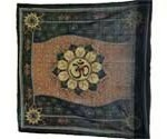 Om Lotus altar cloth 36x36