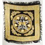 Pentagram Goddess 18x18 altar cloth
