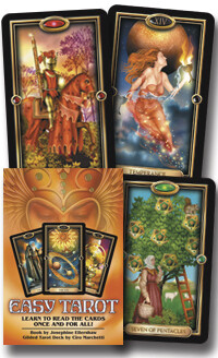 Easy Tarot by Josephine Ellershaw and Ciro Marchetti