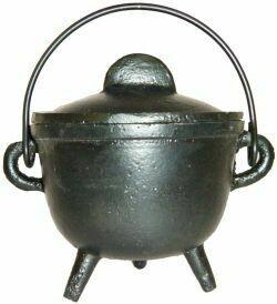 "Cauldron w/lid 5"""