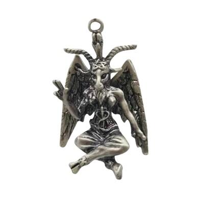 Baphomet necklace 12983