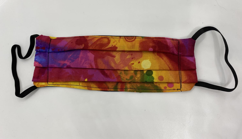 Face Mask-Batik Rainbow