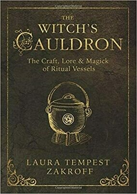 The Witchs Cauldron by Laura Tempest Zakroff