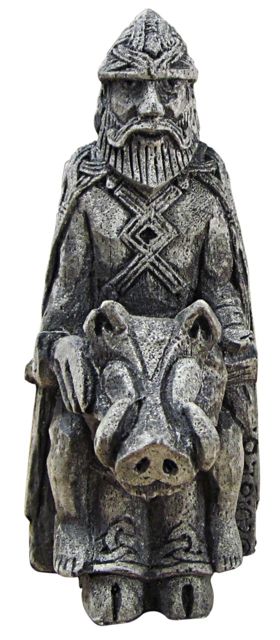 Freyr figurine stone