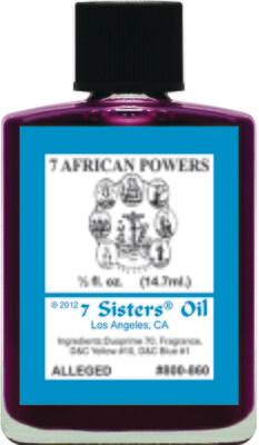 7 African Powers oil 7sis