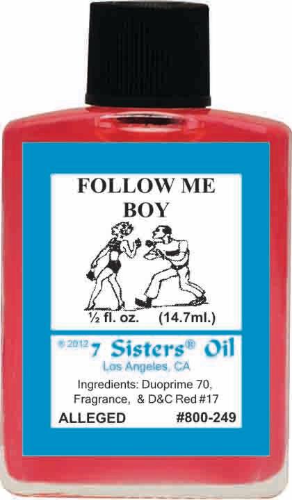 Follow Me Boy oil 7sis