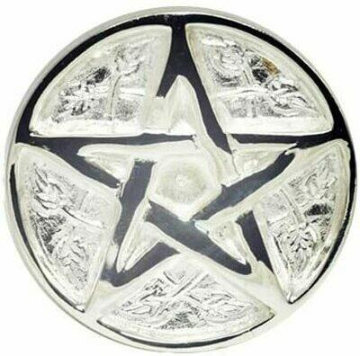 Brass Silver Pentagram tile