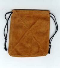 "Leather bag 3""-4"""