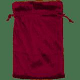 Burgundy Velvet Bag lined gold
