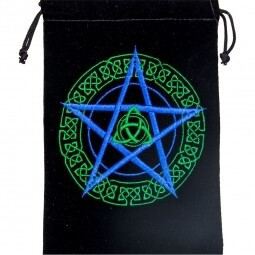 Velvet Bag Celtic Pentacle 5x7