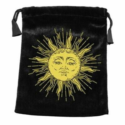 Sun Velvet Tarot Bag