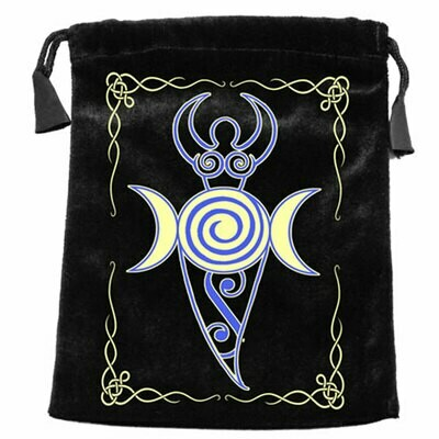 Triple Moon Goddess Tarot Bag