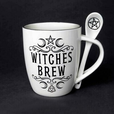 Witches Brew Mug and Spoon