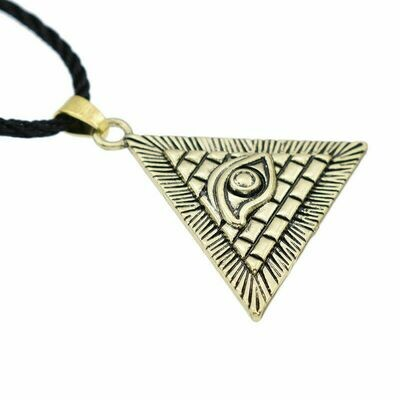 Evil Eye Pyramid necklace