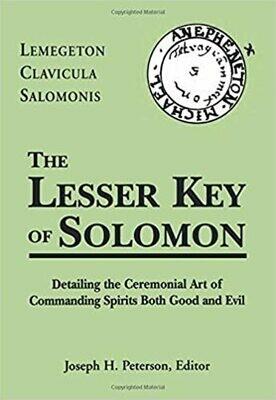 Lesser Key of Solomon Edited by Joseph Peterson hc