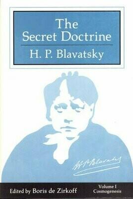 Secret Doctrine 3vol pb by HP Blavatsky