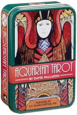 Aquarian Tarot tin