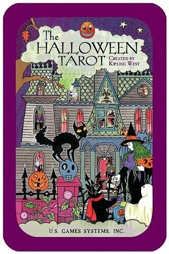 Halloween Tarot tin