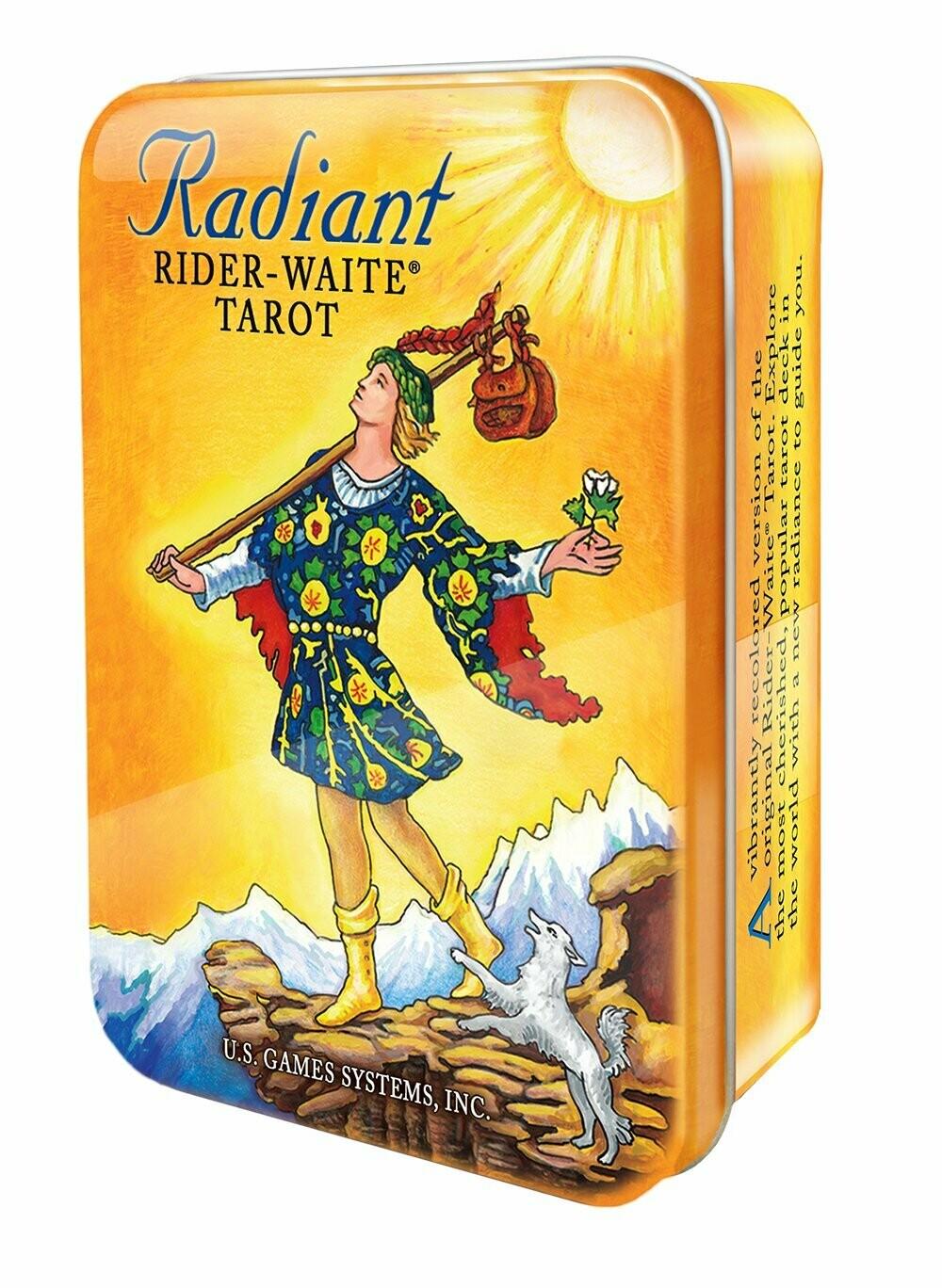Radiant Rider-Waite Tarot tin