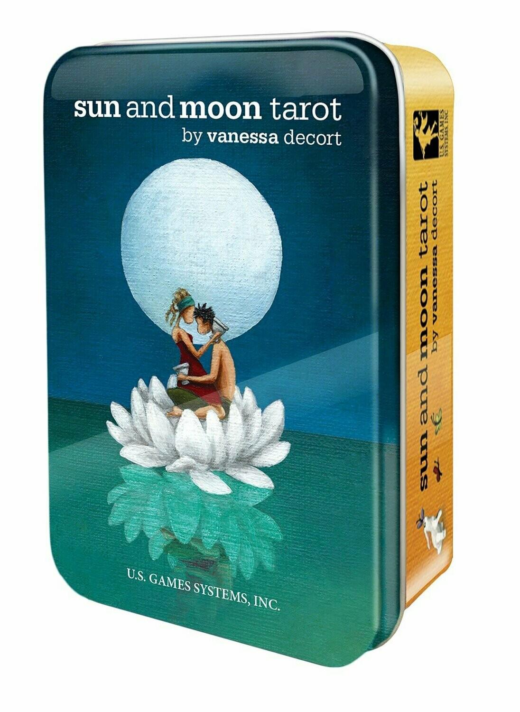 Sun and Moon Tarot tin