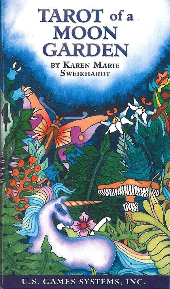 Tarot of a Moon Garden by Karen Marie Sweikhardt