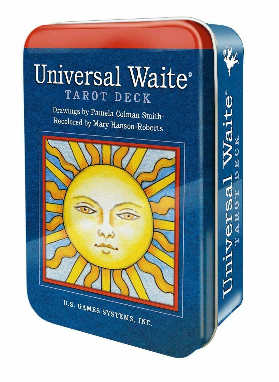 Universal Waite Tarot Tin