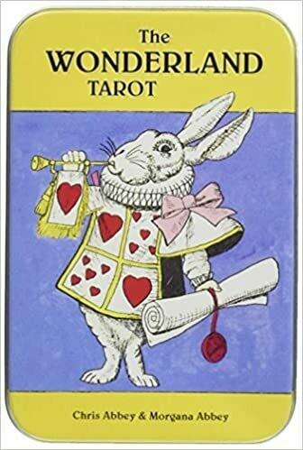Wonderland Tarot tin