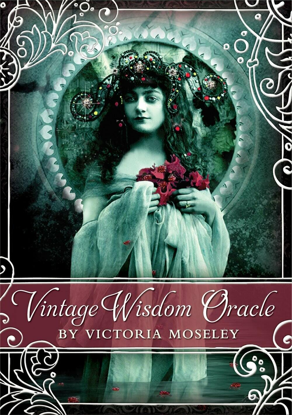 Vintage Wisdom Oracle by Victoria Moseley