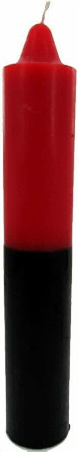 Jumbo Red over Black