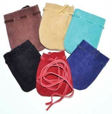 Suede Pouch 2x3