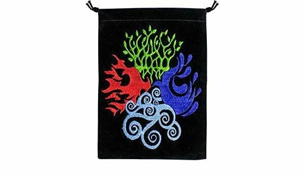 Unlined Velvet Bag 4 Elements