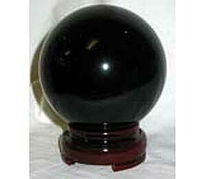 Black Crystal Ball 50mm